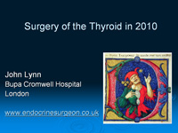 How to do a thyroidectomy